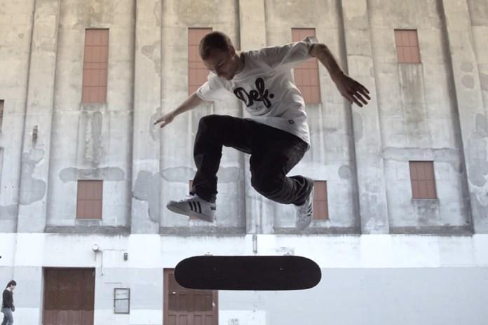 DEF Skateboards Video Captures Skateboarding in Stunning HD Slow Motion