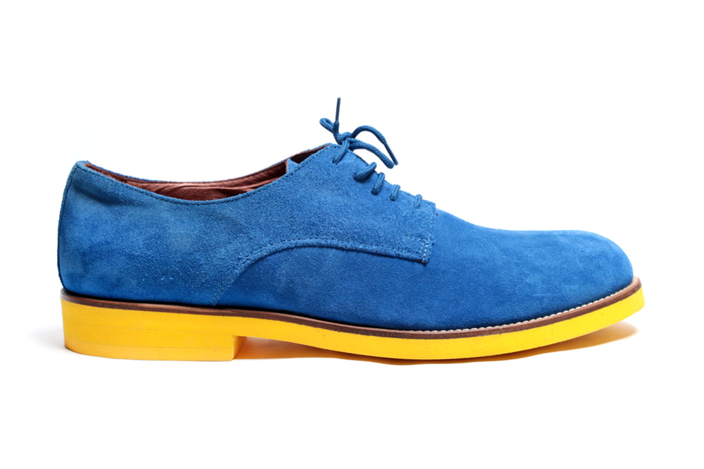 Del Toro Royal Blue Oxford