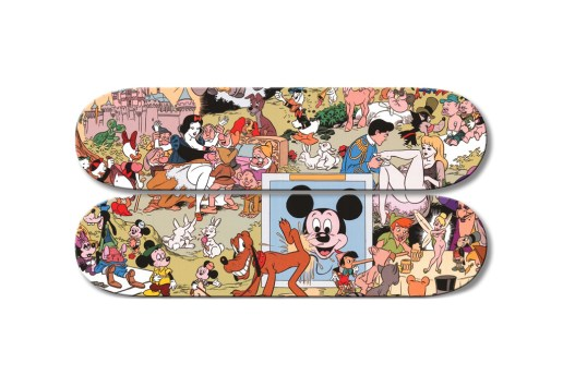 Disney Orgy Skate Decks by Paul Krassner & Wally Wood