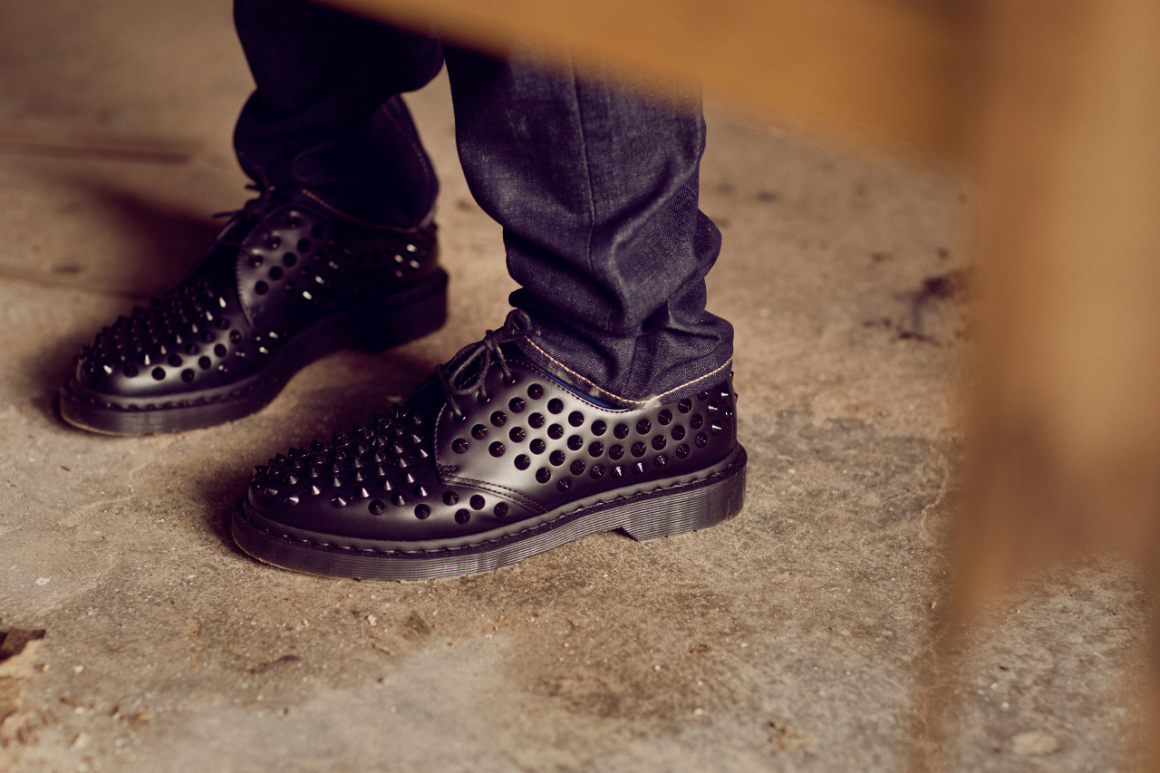 "Dr. Martens 2012 Fall/Winter ""INDIVIDUAL STYLE. UNITED SPIRIT."" Editorial"