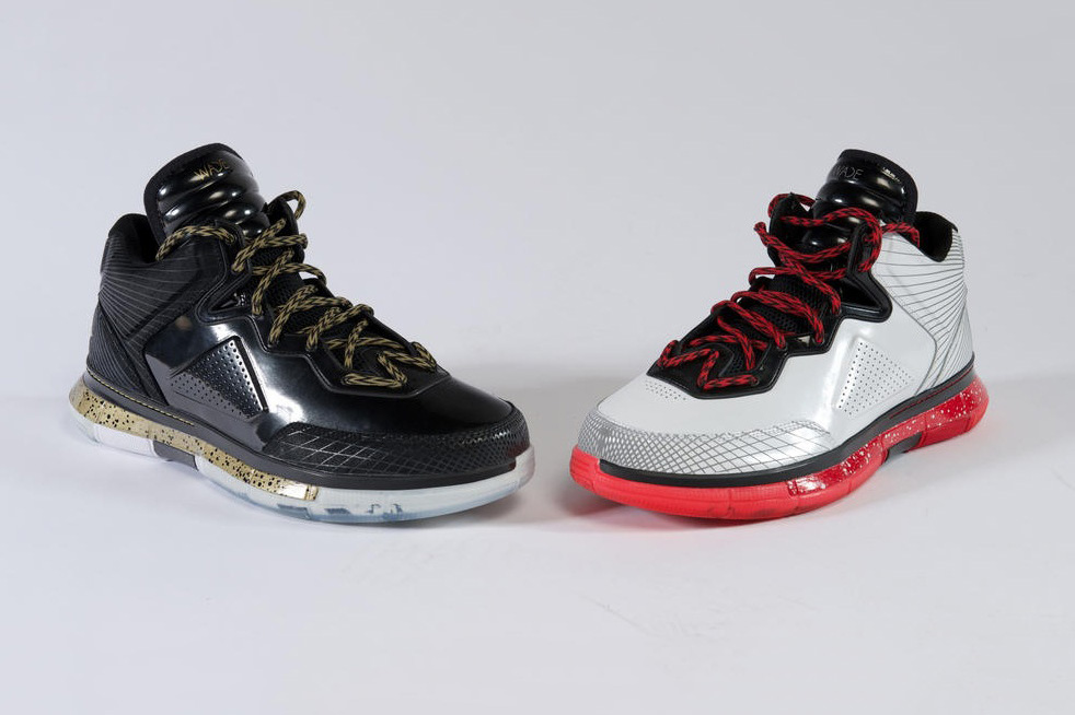 dwyane wade introduces new shoe colorways discusses leaving jordan for li ning