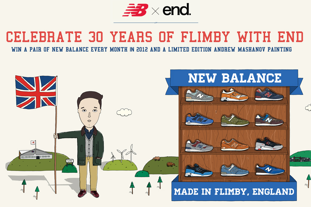 end clothing giveaway win a pair of new balance every month until the end of 2012
