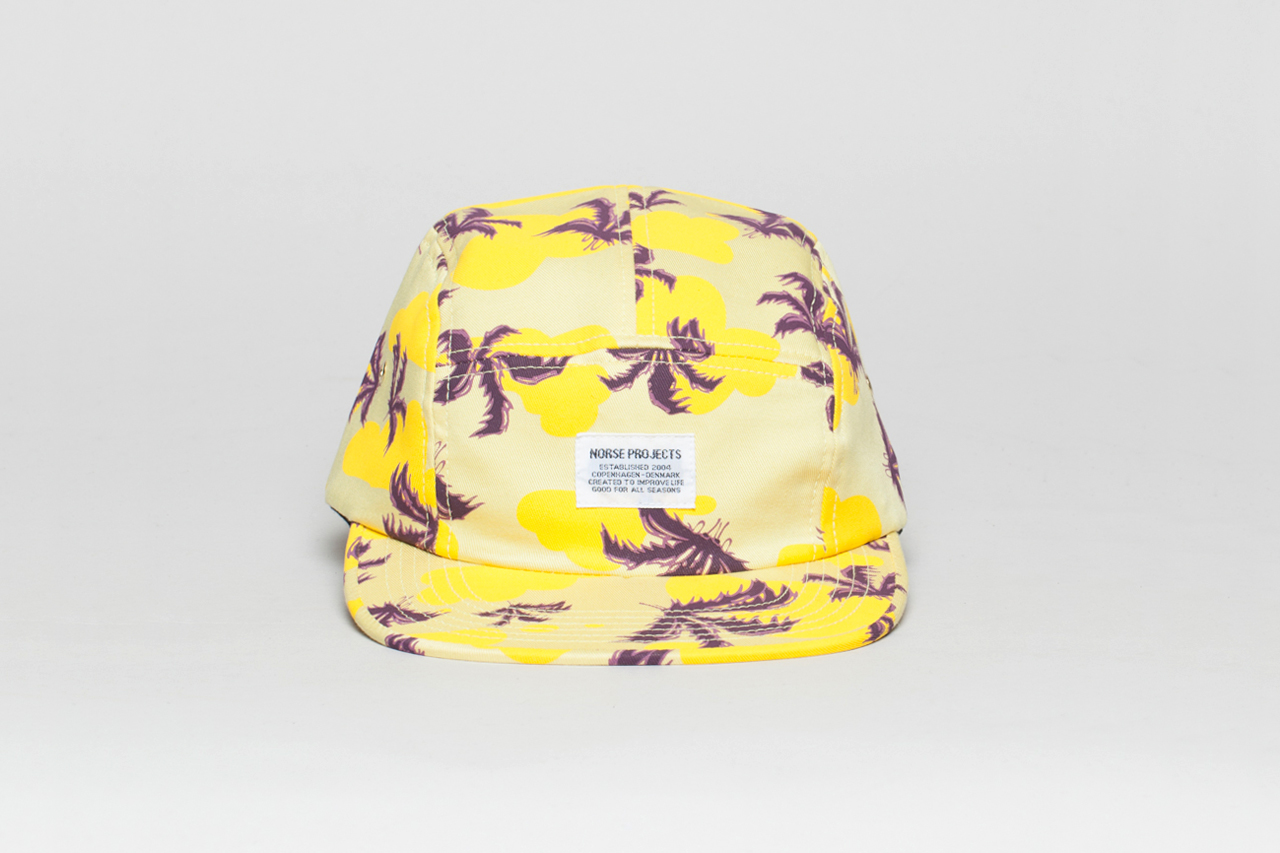 Erik Parker for Norse Projects 5-Panel Cap