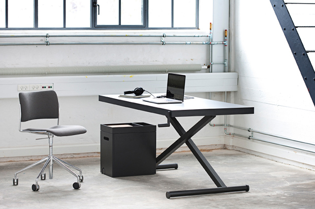 for the growing standing desk trend homlriss height adjustable xtable