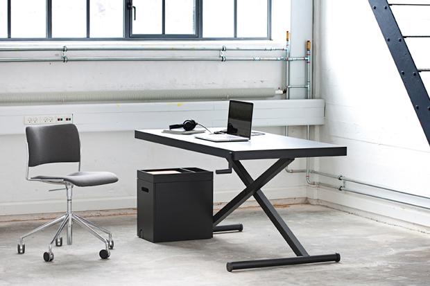 For the Growing Standing Desk Trend, Homlris's Height-Adjustable XTable