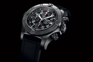 "Francisco Toledo x Breitling Avenger Blacksteel Chrono ""Águila Real Mexicana"""