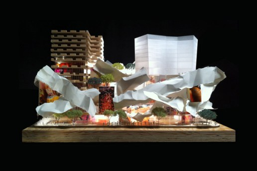 Frank Gehry & David Mirvish Unveil Plans for Entertainment District in Toronto