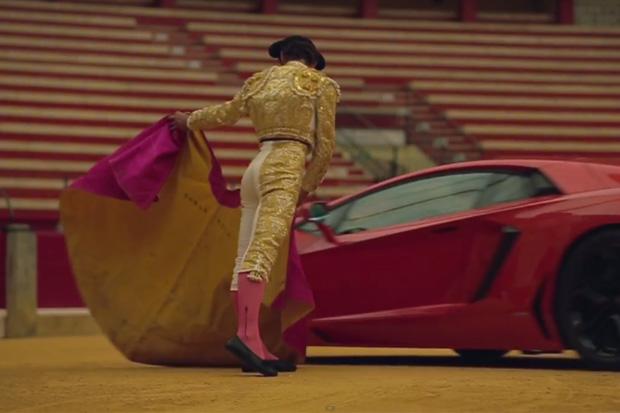Frank Markus Takes the Lamborghini Aventador to the Bullfighting Ring