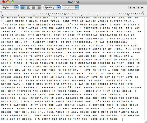 frank ocean pens new letter via his tumblr