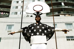 Fucking Young!: Justin Rock Models Supreme, Robert Geller and adidas Originals by Jeremy Scott in Hoop Dreams Editorial
