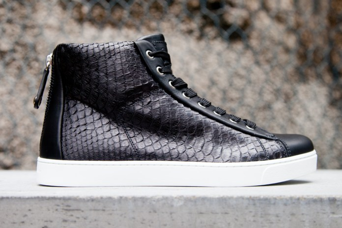 Gianvito Rossi 2012 Fall/Winter Leather Woven Sneaker