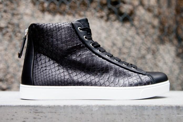 Gianvito Rossi 2012 Fall/Winter Leather Woven Sneaker