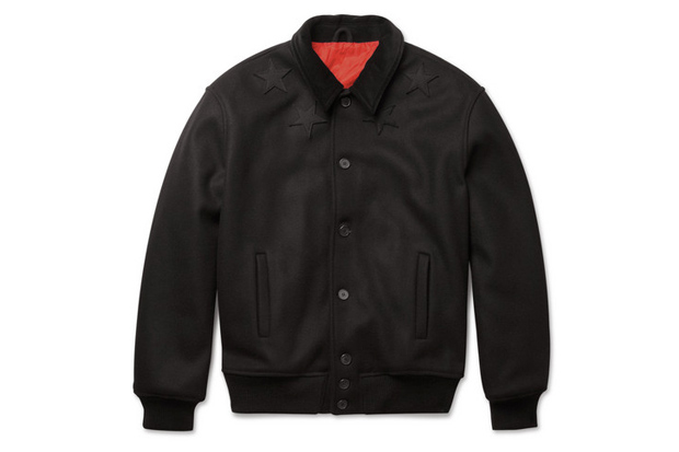 Givenchy Wool-Blend Bomber Jacket