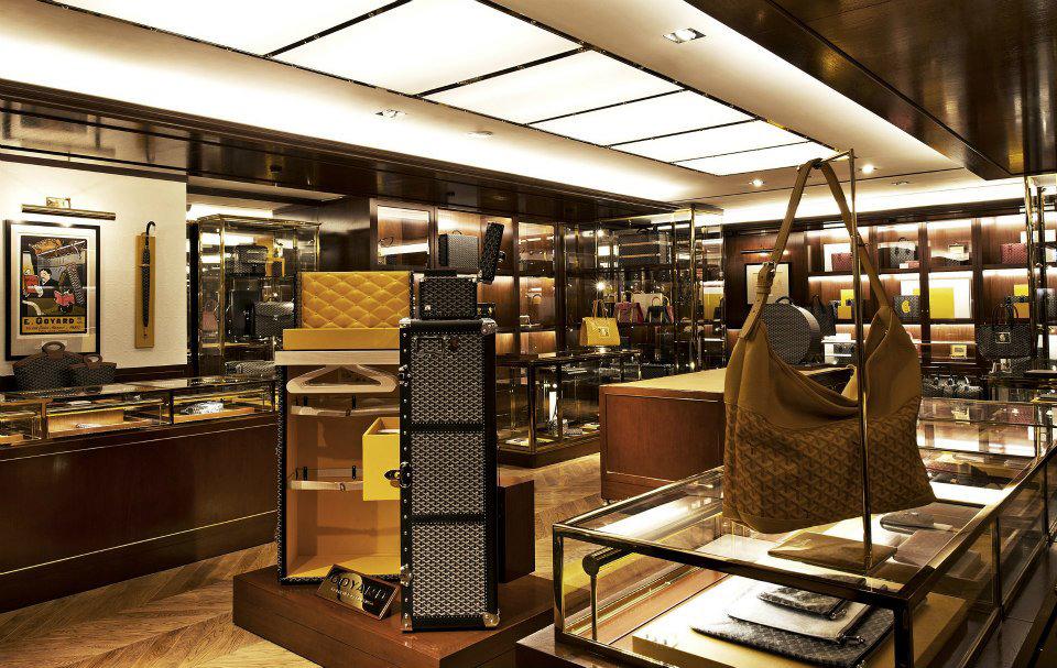 goyard regent taipei flagship store