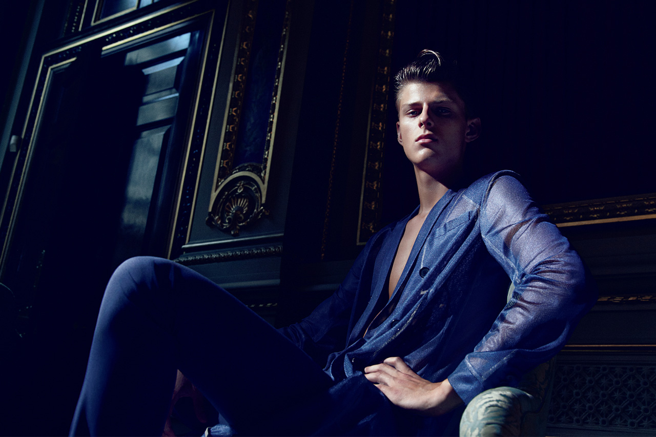 hero dior homme 2013 spring summer editorial preview