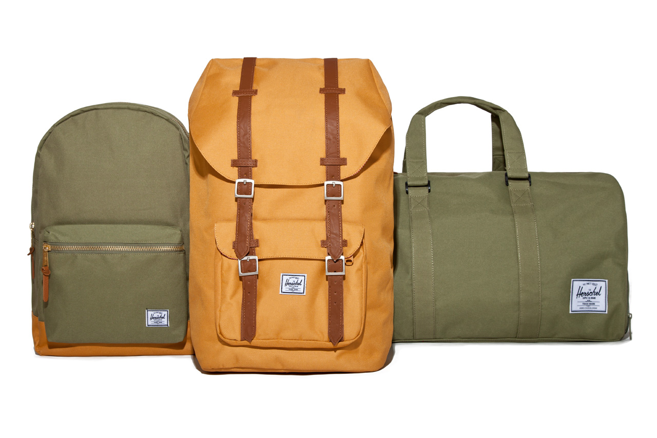 herschel supply co 2012 holiday collection