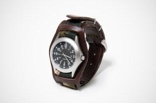 hobo YARDWORK Camo Quartz Watch