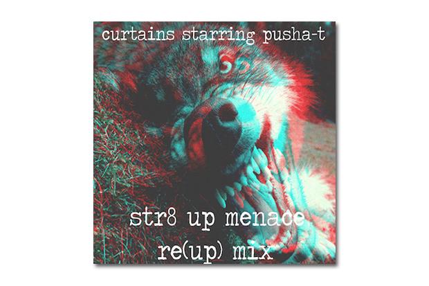 HYPETRAK Premieres CurT@!N$ starring Pusha T - Str8 Up Menace Re-(Up) Remix