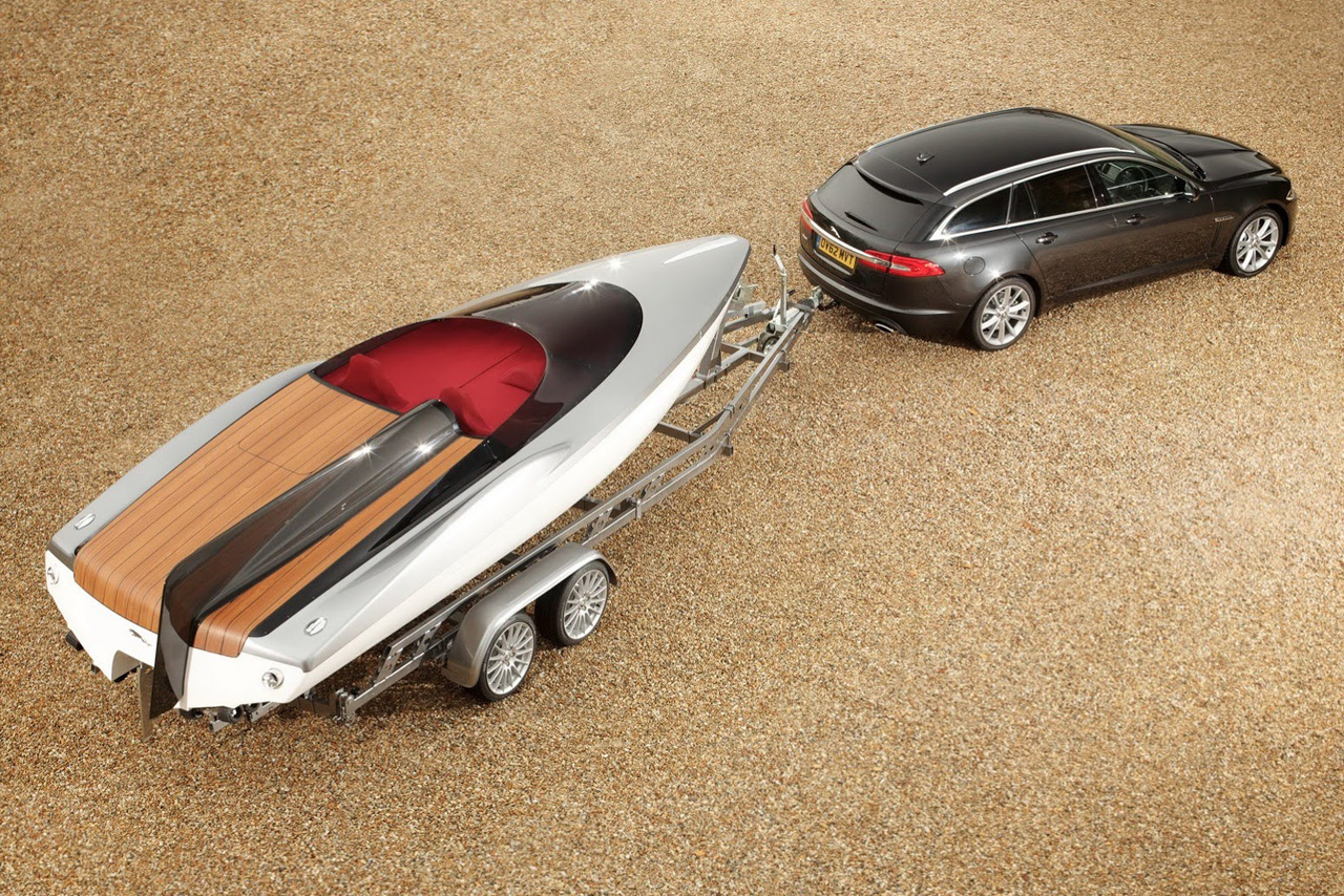 Jaguar's Concept Speedboat Accompanies New XF Sportbrake
