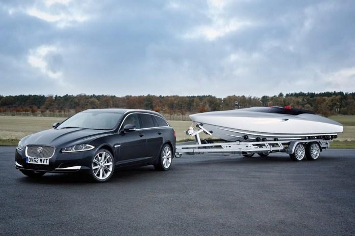 Jaguar's Concept Speedboat Accompanies New XF Sportbrake