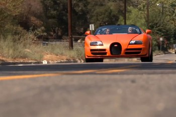 Jay Leno Displays the Bugatti Veyron 16.4 Grand Sport Vitesse