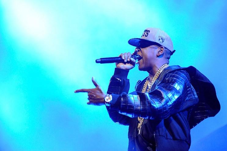 Jay-Z Opens the Barclays Center in Calvin Klein Alligator Hoodie