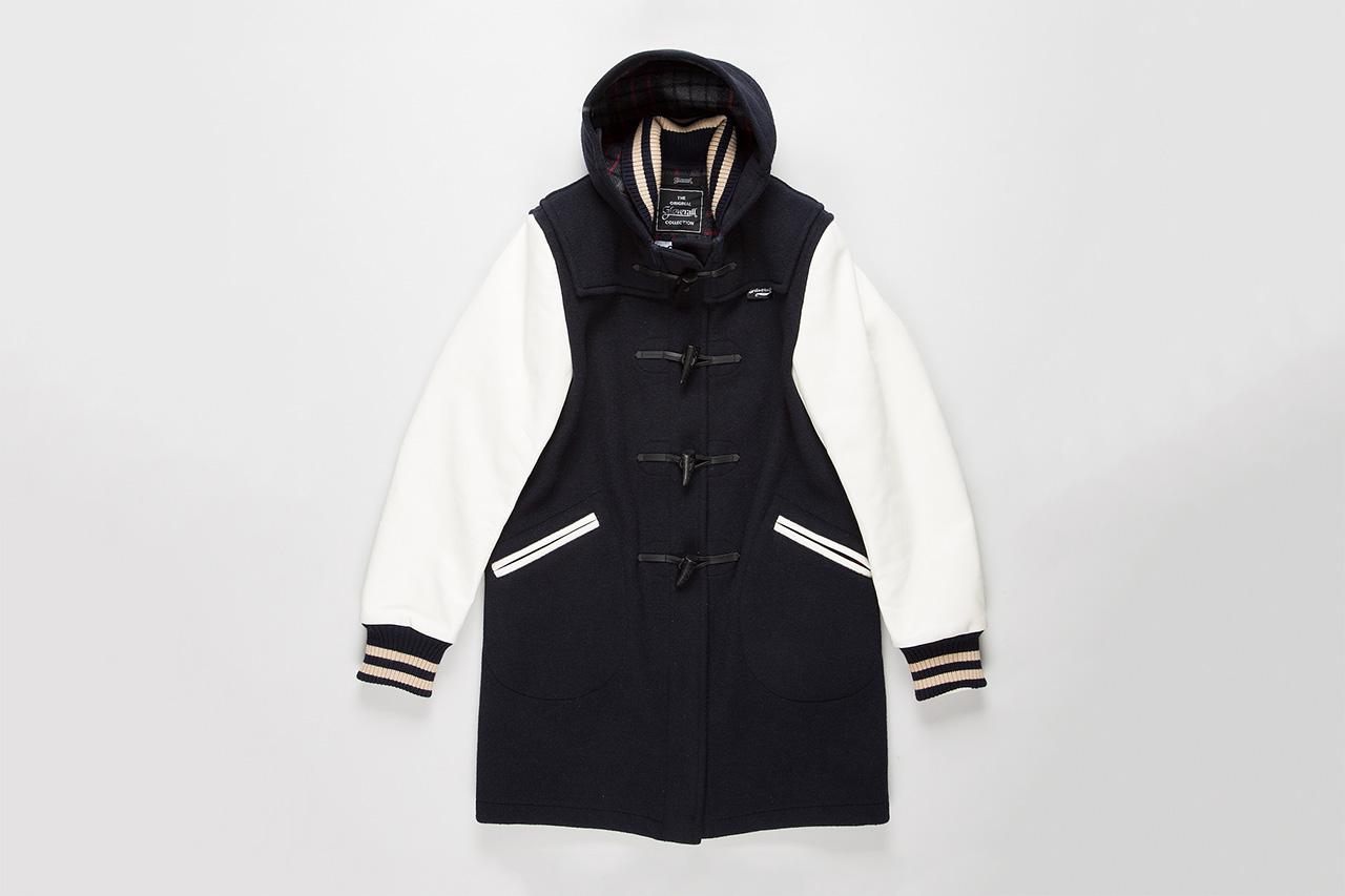 Junya Watanabe MAN x Gloverall Baseball Duffel Jacket