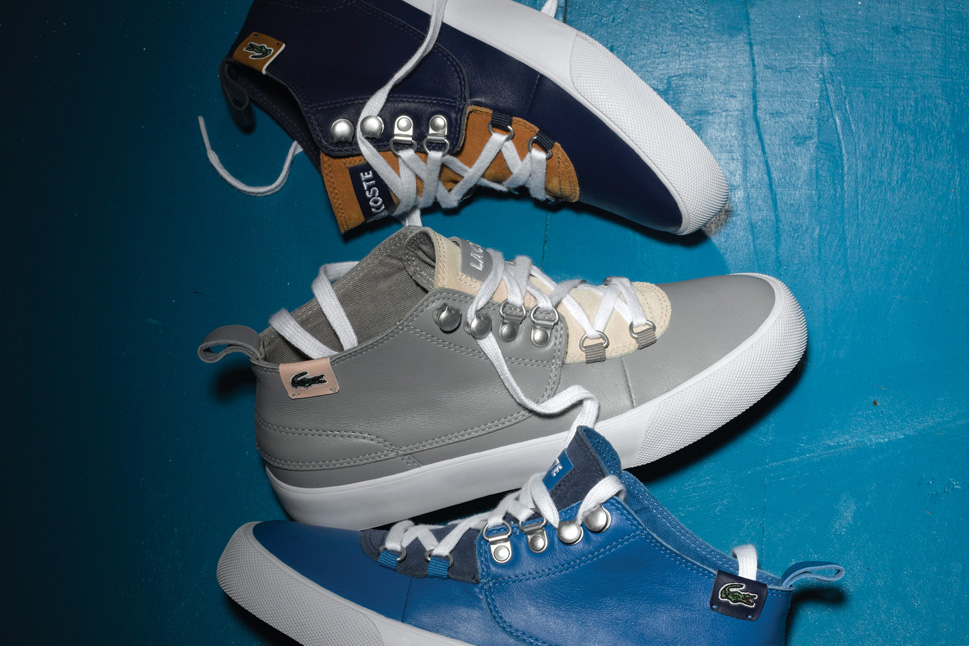 lacoste live 2012 holiday footwear collection