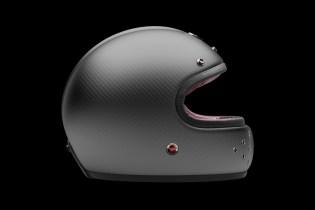 """Les Ateliers Ruby Castel Carbon Gunmetal """"St Roc"""" Helmet"""