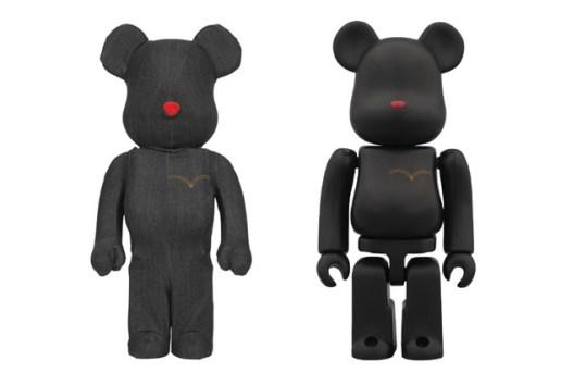 Levi's x Medicom Toy Black Denim Bearbrick