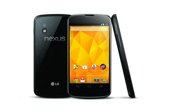 LG and Google Announce the Nexus 4 Smartphone