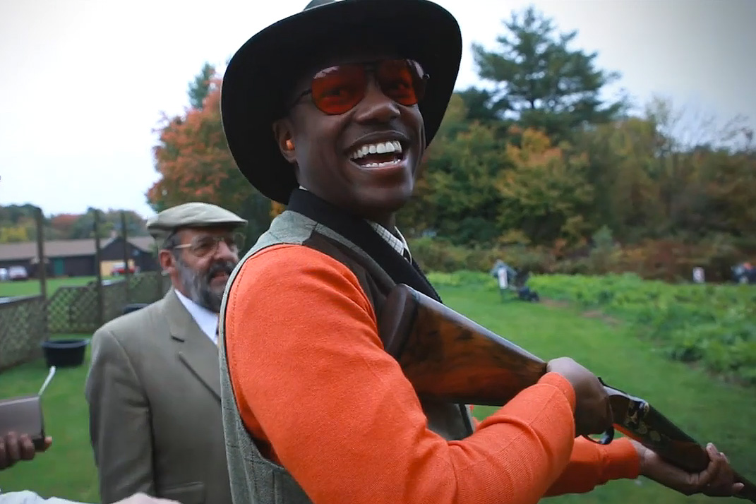 Marcus Troy TV: Barbour's Tweed Shooting Attire on Display at the Rhode Island Vintage Cup