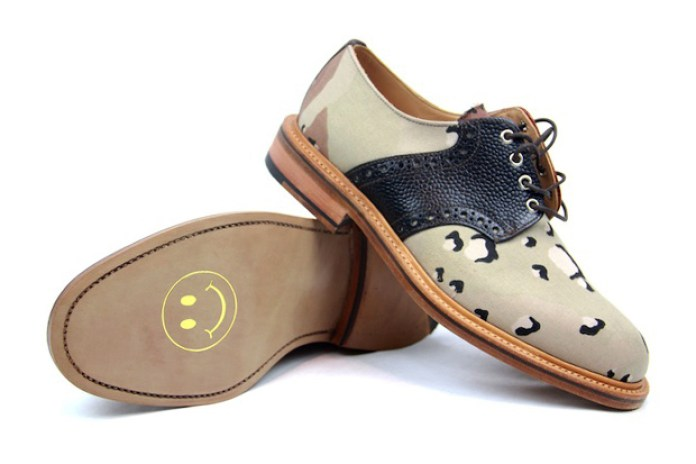 Mark McNairy Desert Camo Saddle Shoe