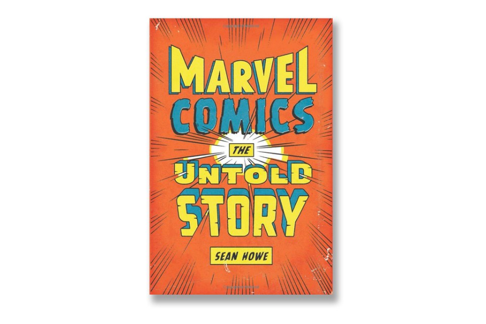 Marvel comics the untold story a book revealing behind the scenes
