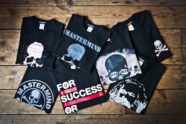 mastermind JAPAN 2012 Fall/Winter T-Shirt Collection