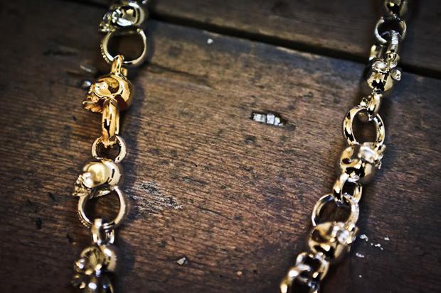 mastermind japan skull wallet chain