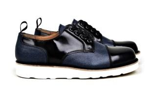 Carven Leather-Mix Shoe