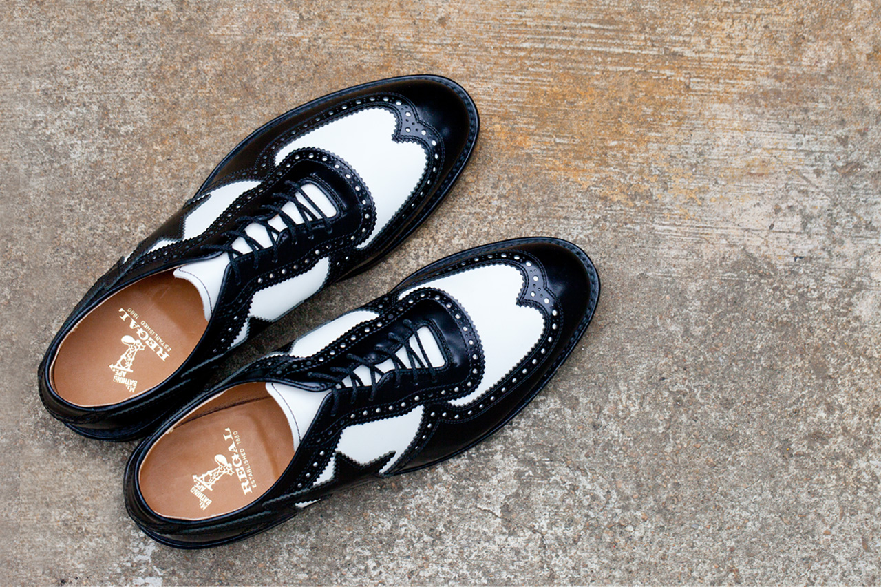 mr bathing ape x regal 2012 fall winter brogue shoes