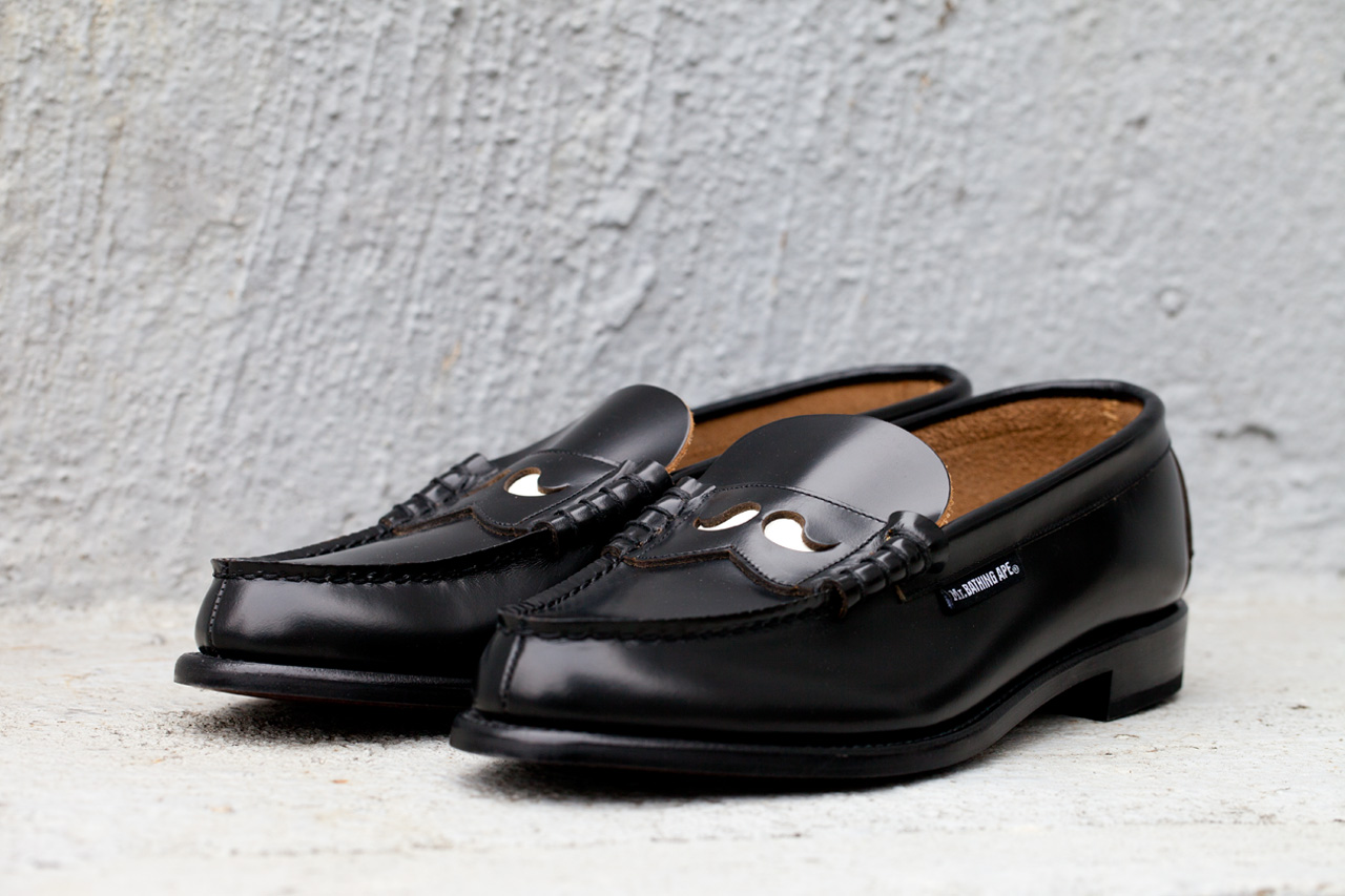 mr bathing ape x regal 2012 fall winter penny loafers