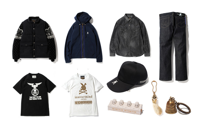 neighborhood x mastermind japan 2012 fall winter collection