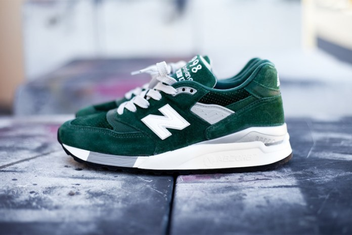 "New Balance M998BB ""Hunter Green"""