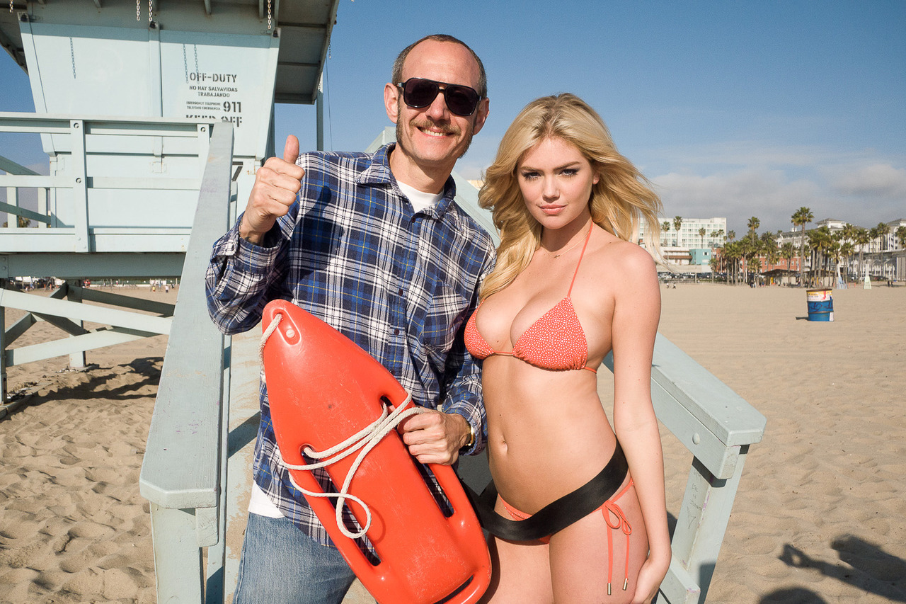 New Kate Upton Outtakes from Terry Richardson