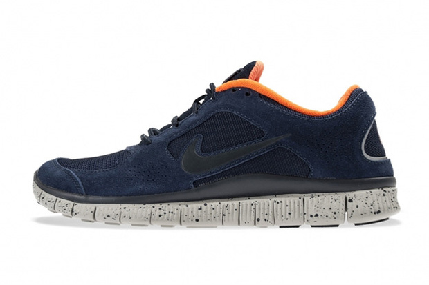Nike Free Run+ 3 Obsidian/Total Orange