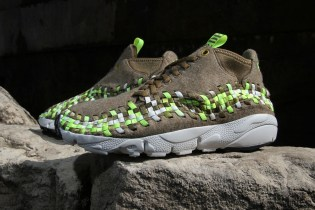 "Nike Air Footscape Woven Chukka ""Volt Wool"""