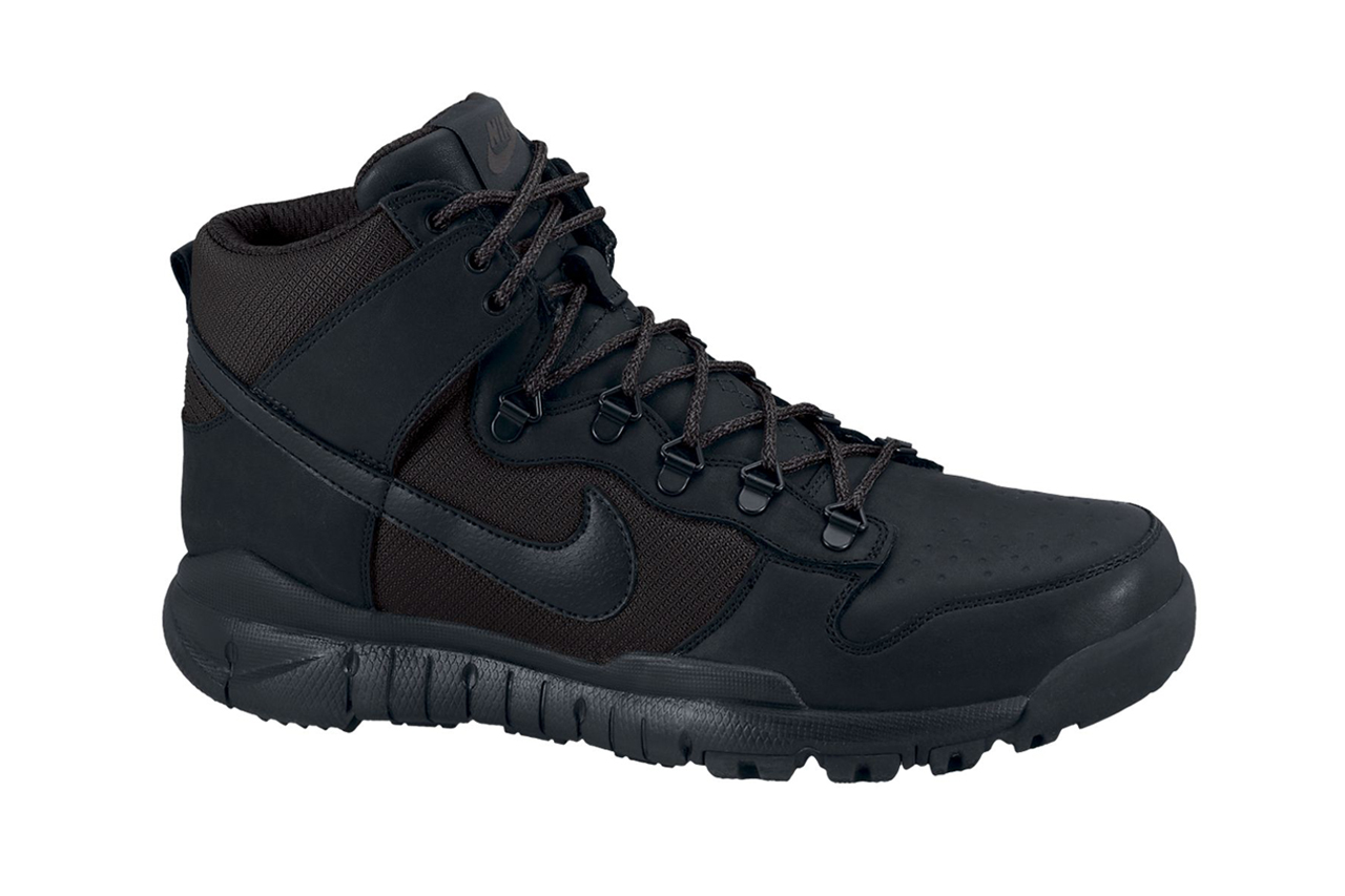 "Nike Dunk High OMS ""Blackout"""
