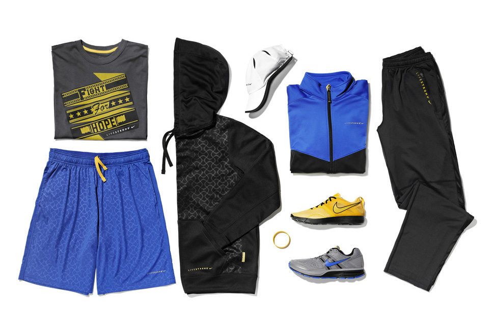 nike livestrong 2012 holiday collection