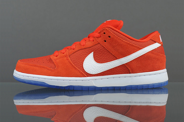 nike sb dunk low pro challenge red white