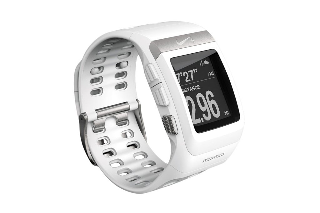 nike sportwatch gps white silver edition