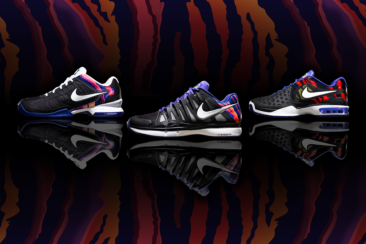 """Nike Tennis """"Flame"""" Collection"""