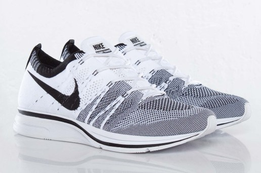 Nike Flyknit Trainer+ Black/White